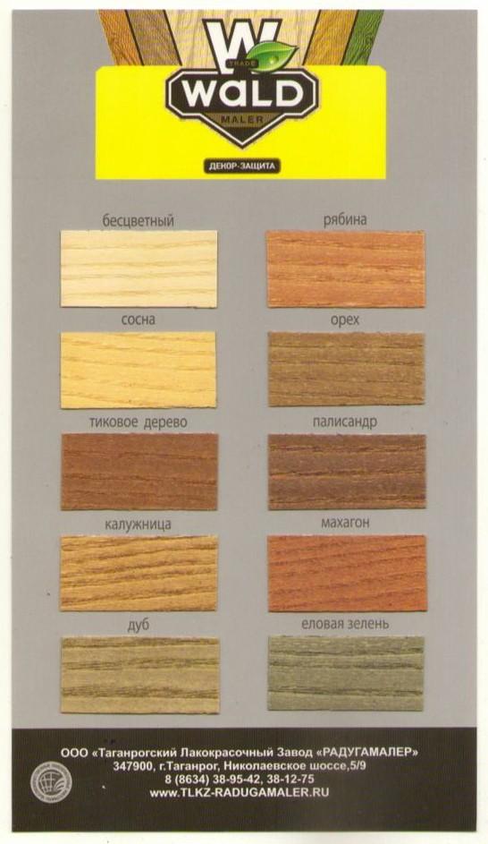 Декор защита древесины