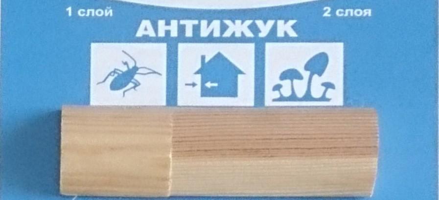 Пропитка от жуков-древоточцев АНТИЖУК KRONA (концентрат 1:4)